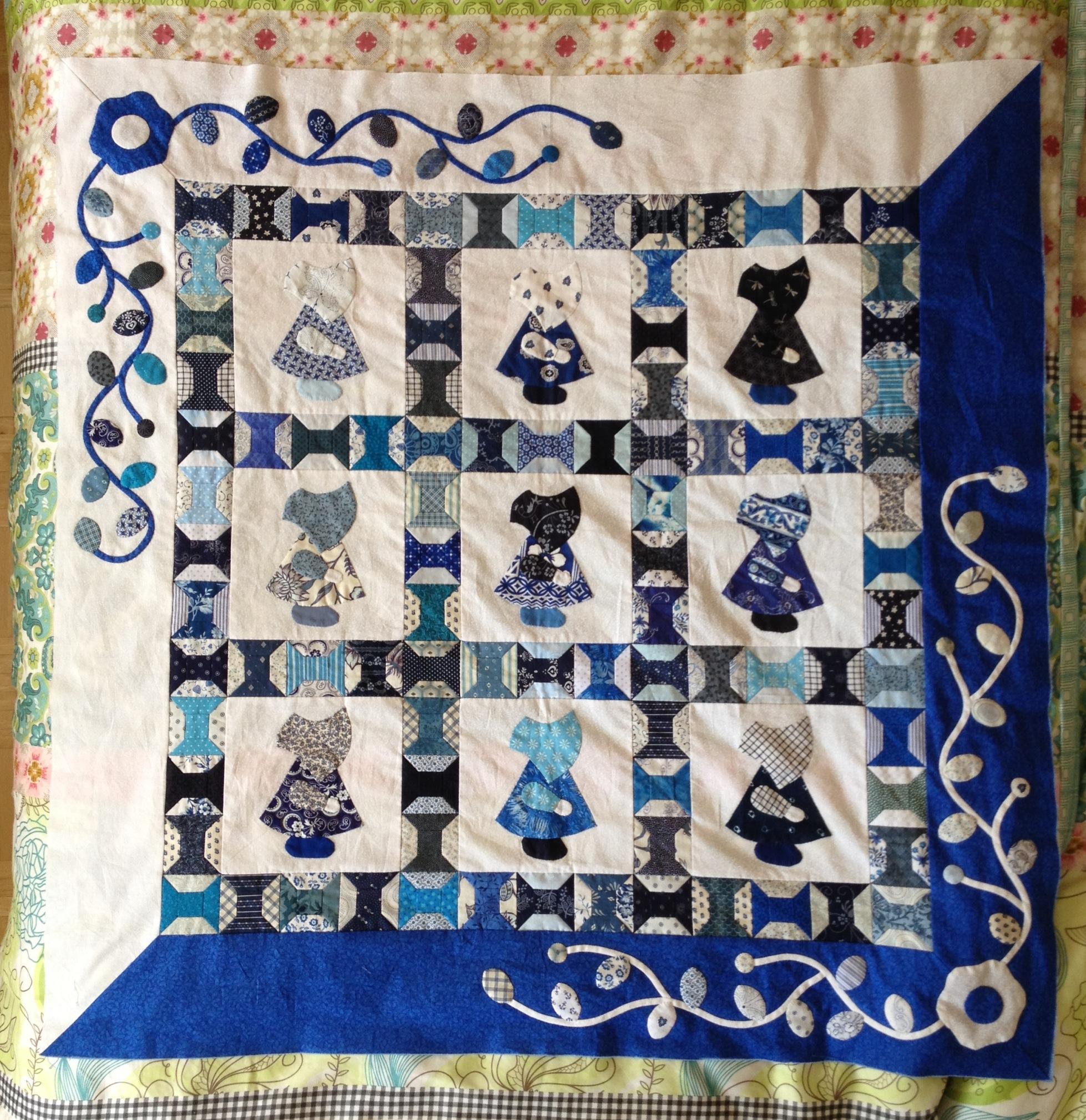 Juli 2012 real men stitch and sew for Quilt maken met naaimachine