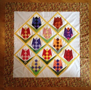 Top tulpenquilt