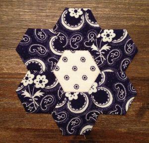 Hexagonbloem voor Anja