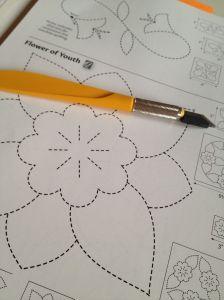 Patroon bloem