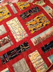 New York quiltje