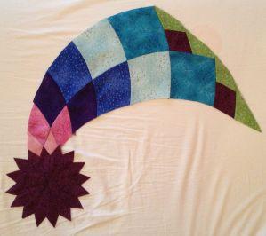 Start Dahlia quilt