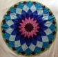 Middenstuk Dahlia quilt