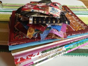 Magazines en stoffen