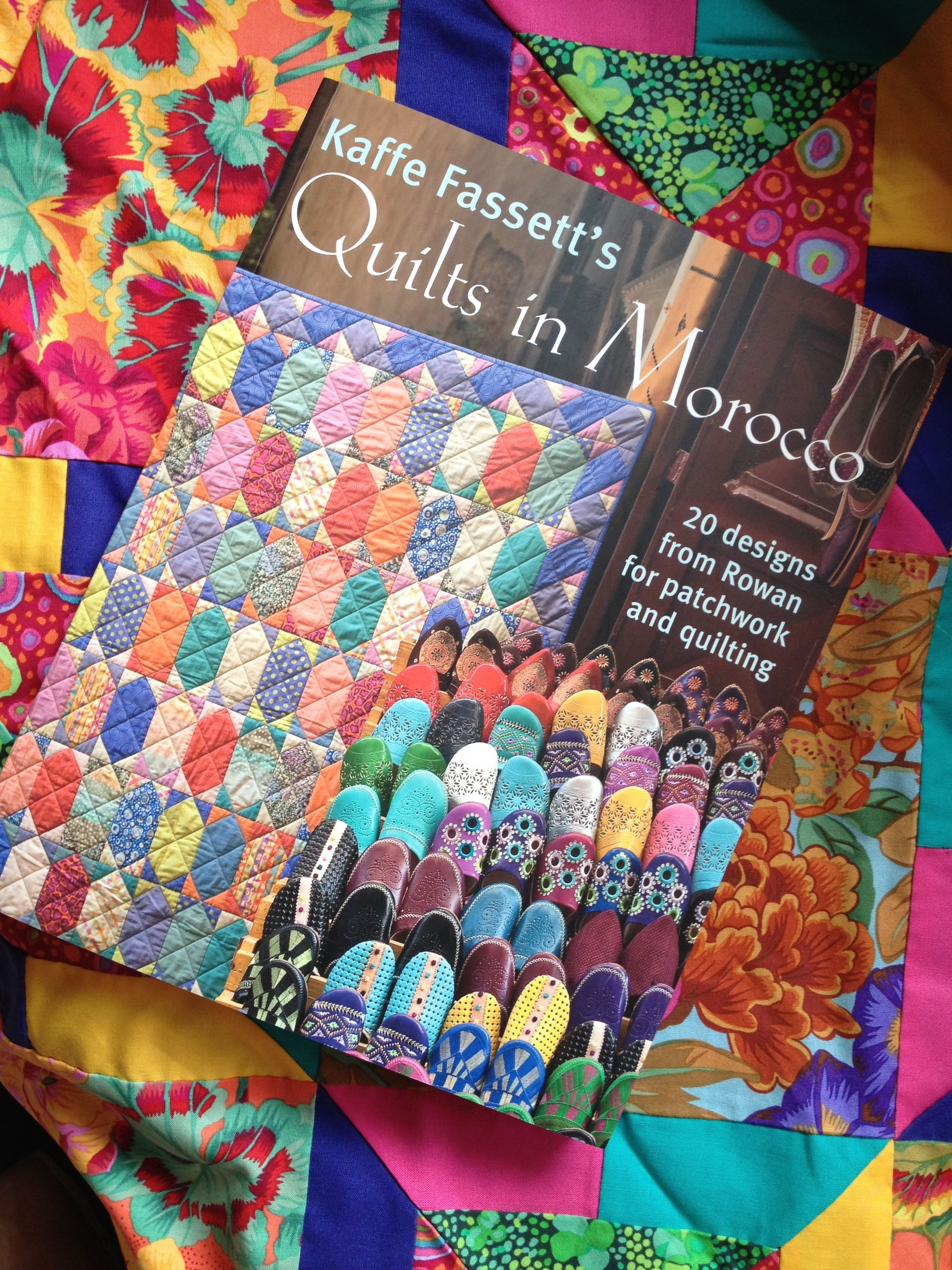 Kaffe Fassett Quilts In Morocco Real Men Stitch And Sew