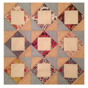 9 square in a square blokken