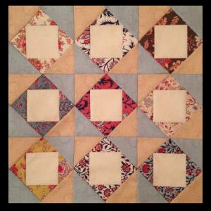 9 square in a square blokken
