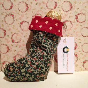 Kerstsokje met Ferrero Rocher