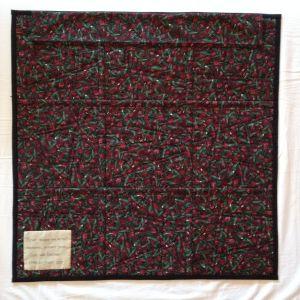 Achterkant quilt