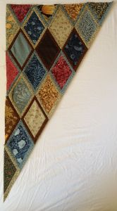 Bordered Diamonds quilt