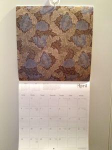 William Morris kalender
