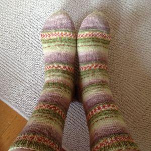 Handgebreide sokken