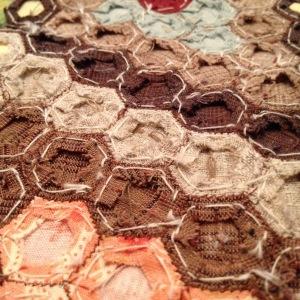 Achterkant hexagonnen