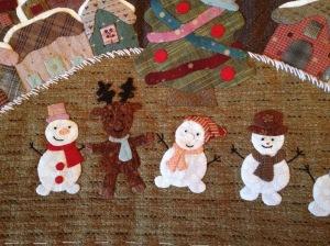 Sneeuwpoppen en rendier