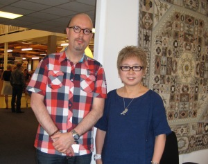 Samen met Yoko Saito